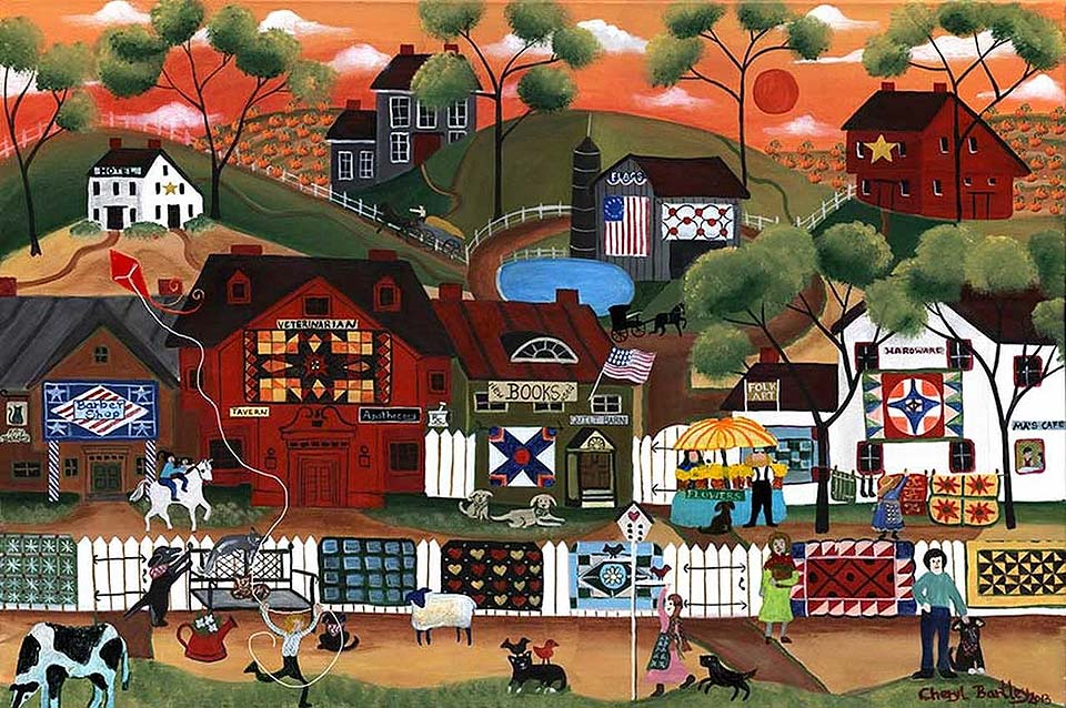 Sunrise Quilters Pumpkin Village