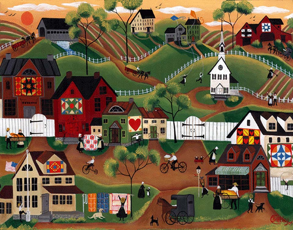 Amish Quilt Village of Yesterday