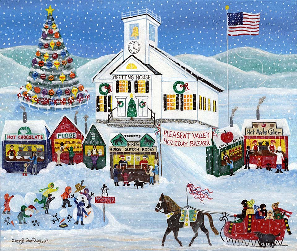 Winter Meeting House Holiday Bazaar Pleasent Valley