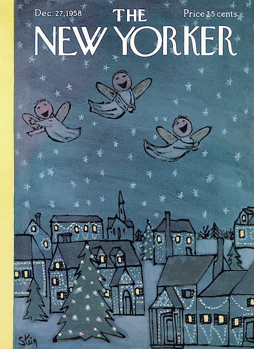 The New Yorker - 27 décembre 1958 - Young angels sing Christmas carols at night