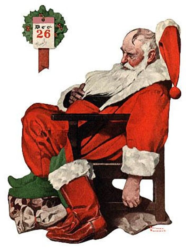 Christmas by Norman Rockwell